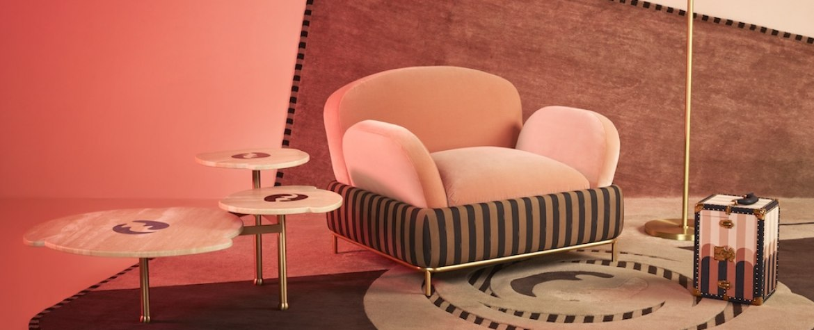 """FENDI with FENDI Casa present """"Back Home"""" Collection by Cristina Celestino For Milan Design Week"""