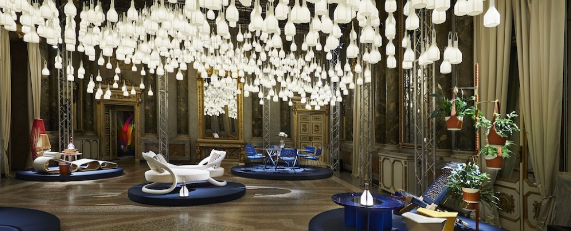 Louis Vuitton's Objets Nomades Debuts New Pieces At Palazzo Serbelloni For Fuorisalone 2019