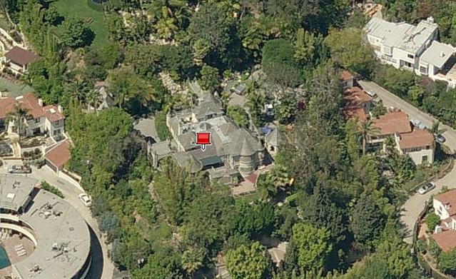 Celebrity Living: Johnny Depp Estate in Hollywood ...