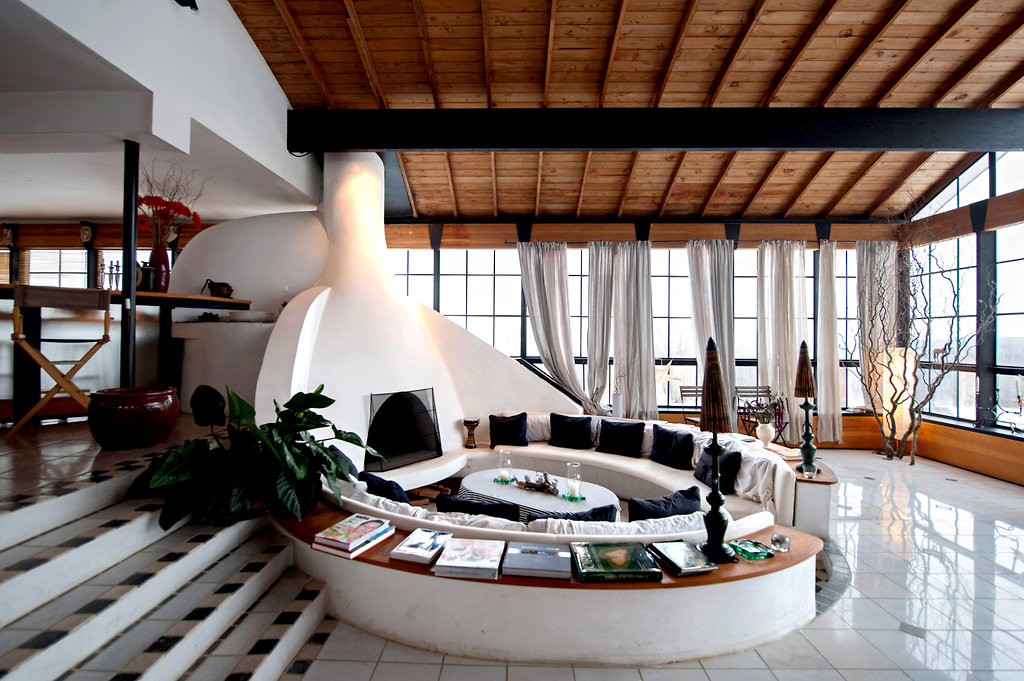 A Barn To Home Conversion Living Room