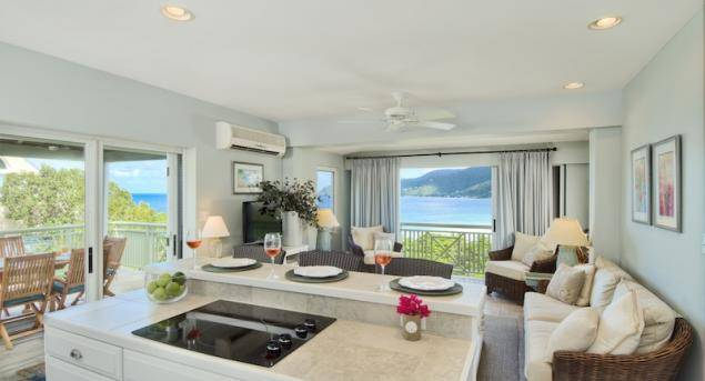 Garden Suite Kitchan And Living Haute Residence Featuring The Best In Luxury Real Estate And Interior Design