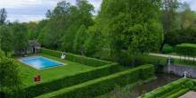 Catherine Deneuve Chateau Pool and Estate