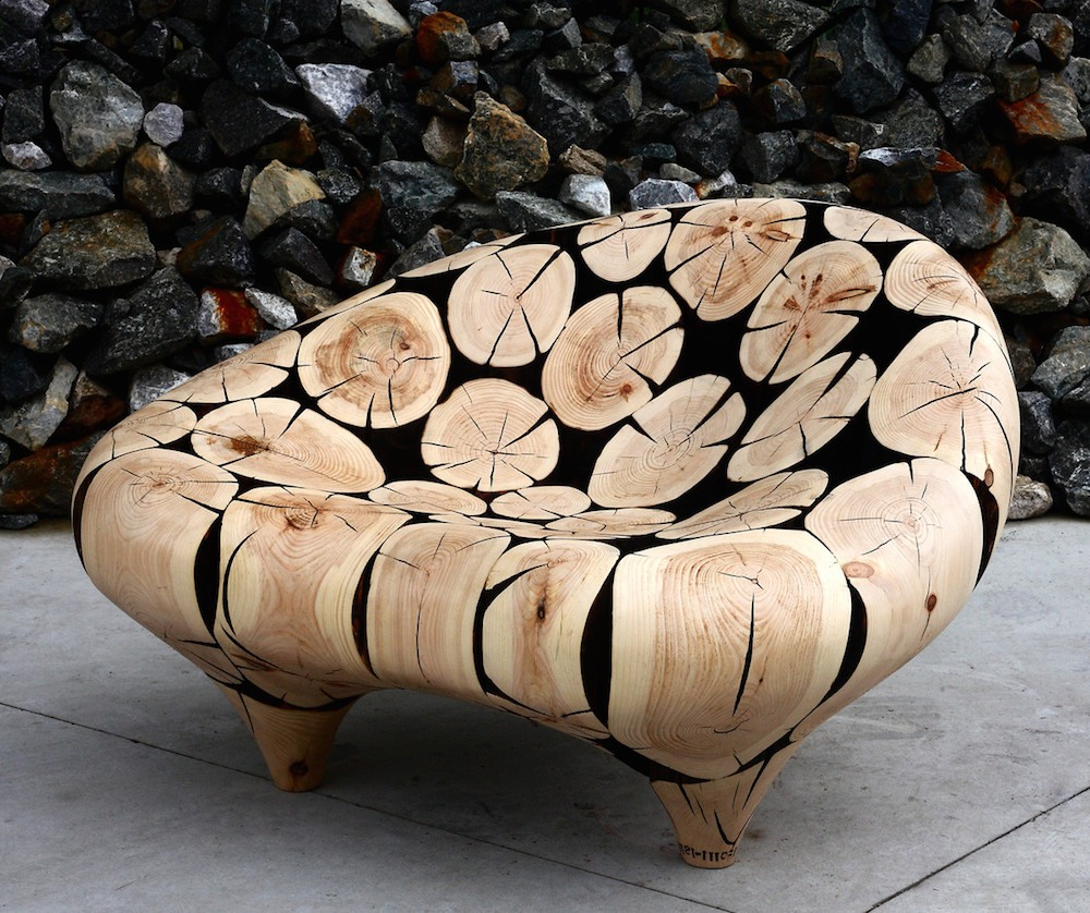 Jae Hyo Lee Pine Chair