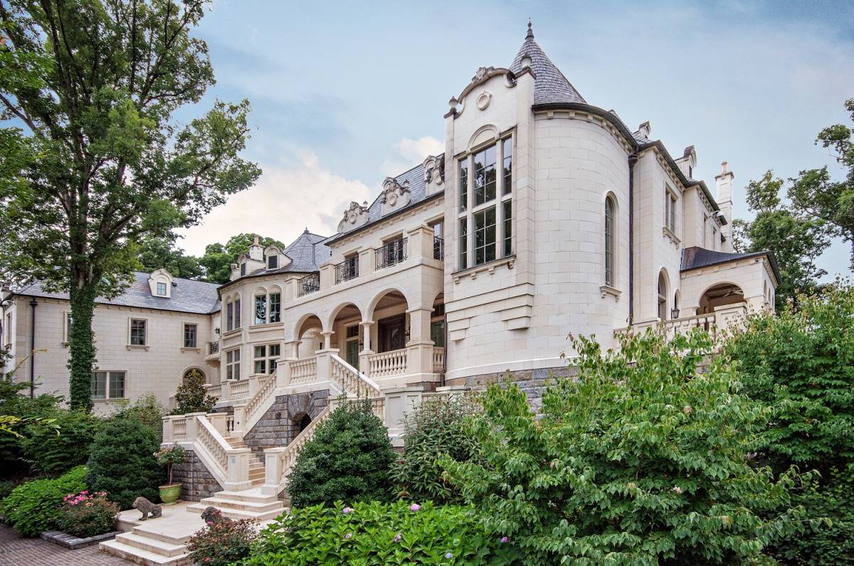French Chateau Near the Biltmore Mansion