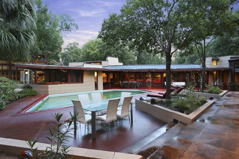 Frank Lloyd Wright's Houston Home