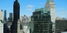 Skyline view of 500 Park Avenue