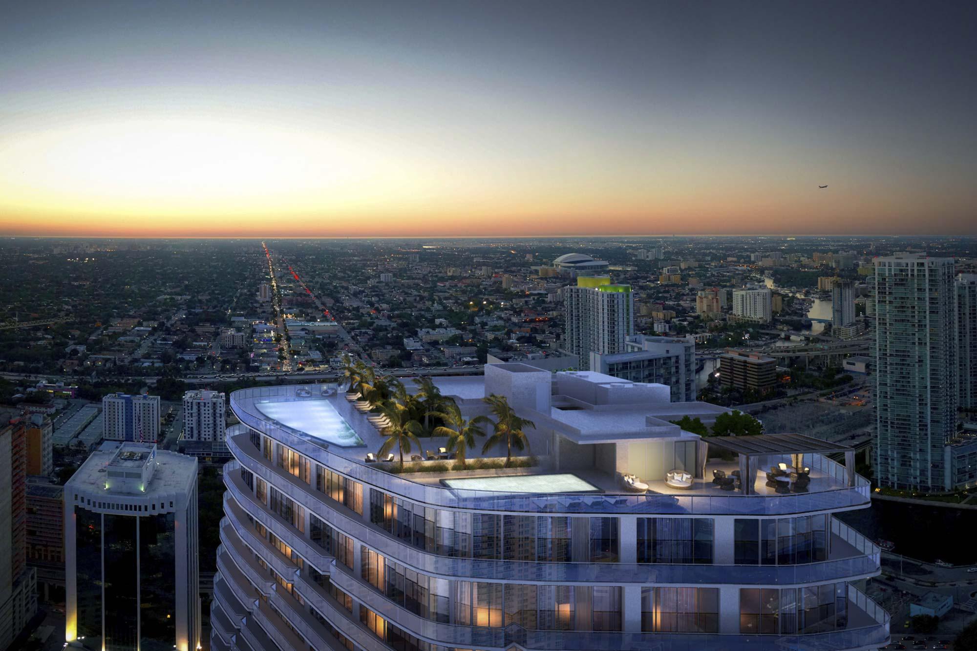 SLS Lux Brickell Spices Up Miami's Skyline