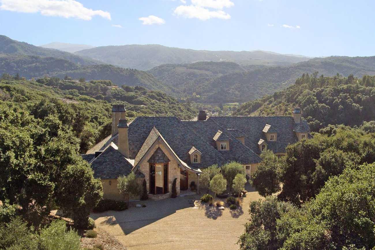 Old World Inspired Estate In Carmel Valley