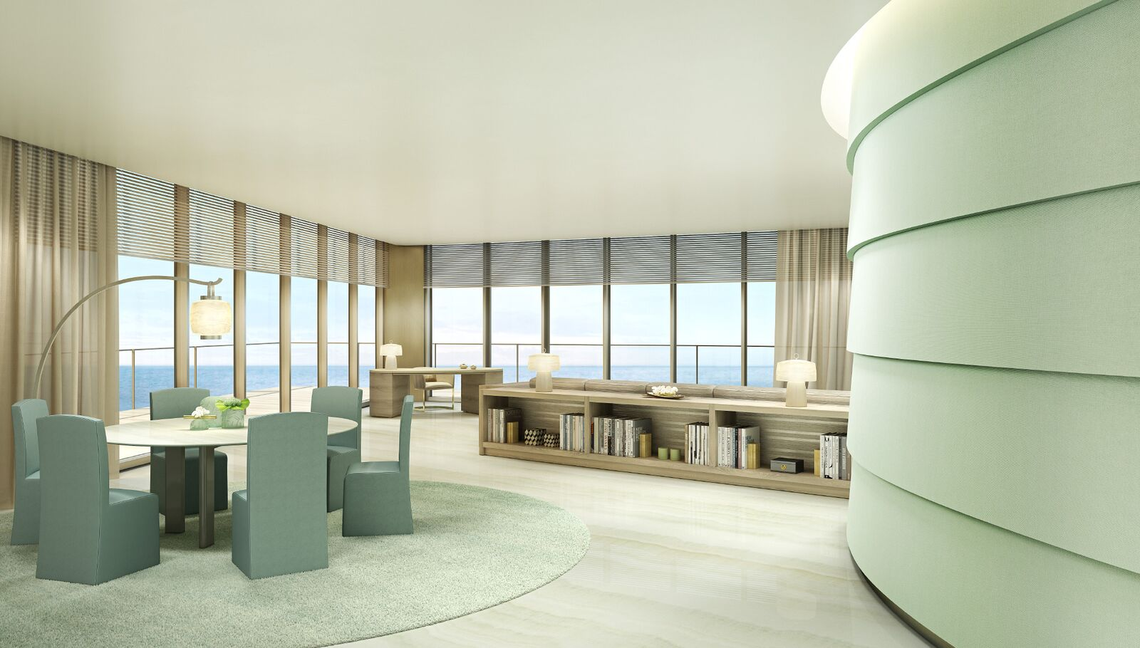 17m High Design Penthouse Designed By Giorgio Armani Soars To The 56th Floor