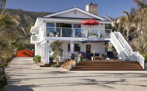 Ashton Kutcher Mila Kunis Beach House