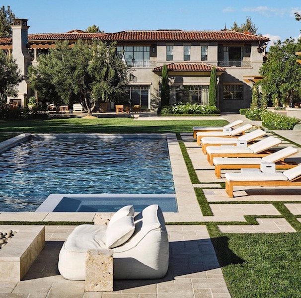 Inside Kourtney Kardashian's Sprawling Calabasas Home