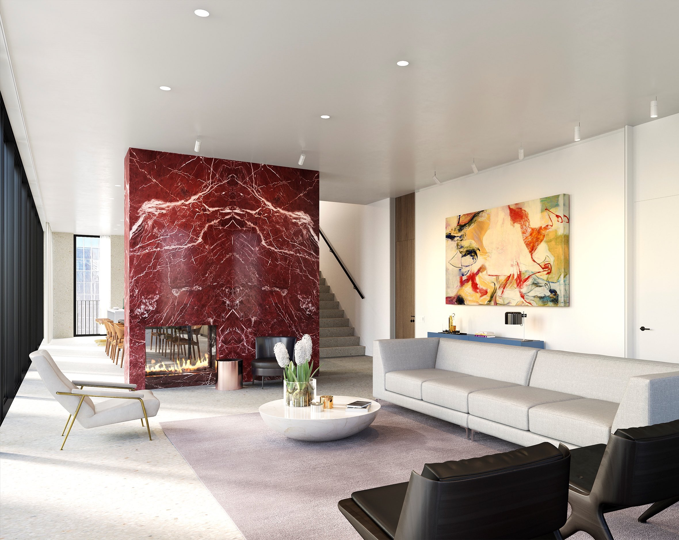 Three Chic Uses Of Rare Marble In Luxury Developments