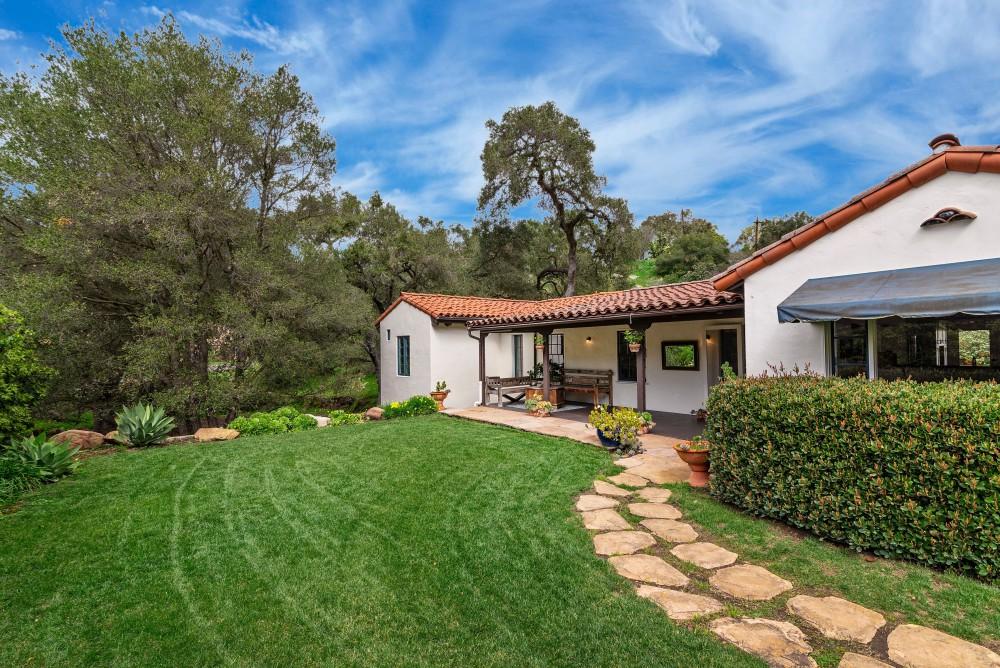Authentic Spanish Style Santa Barbara Home - Haute ...