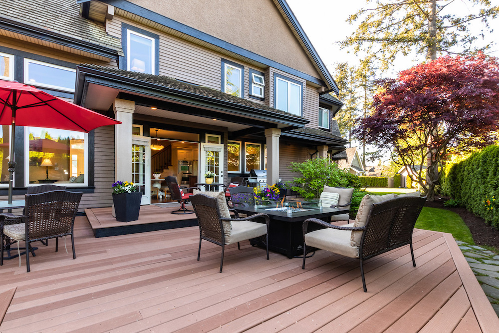 Vancouver home with beautiful deck