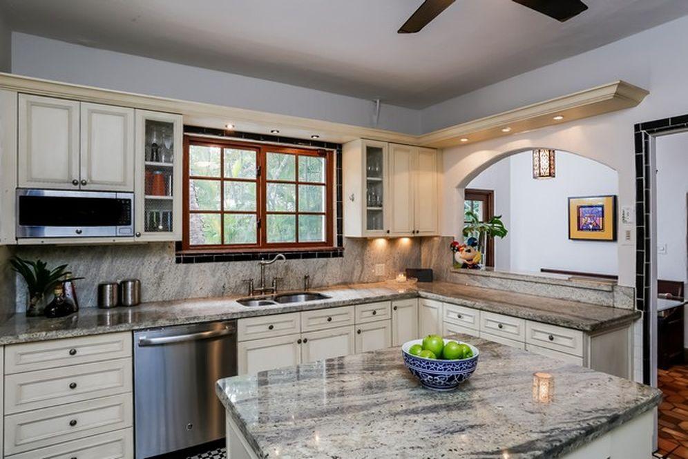 Kitchen in a historic home in Coral Rock Miami