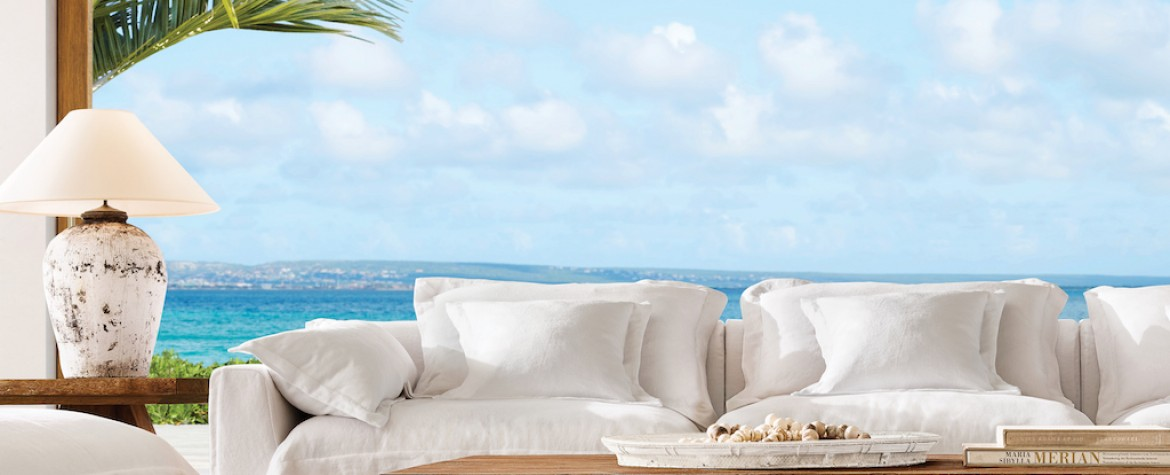 "Restoration Hardware Unveils Their New ""RH Beach House"" Collection"