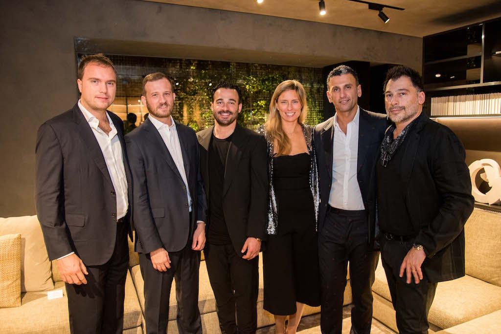 Giovanni Molteni, Andrea Molteni, Daniel Hakakian, Giulia Molteni, Siamak Hakakian, Babak Hakakian