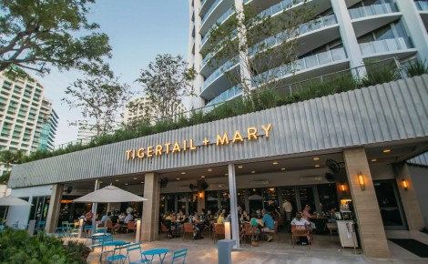 Tigertail + Mary restaurant Park Grove