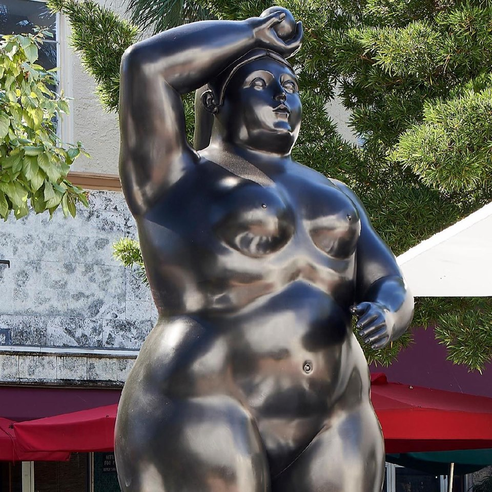 Botero on Lincoln Road 2