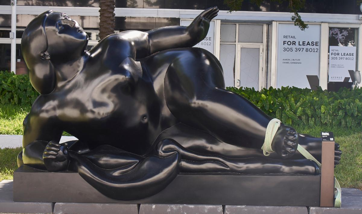 Botero on Lincoln Road 4