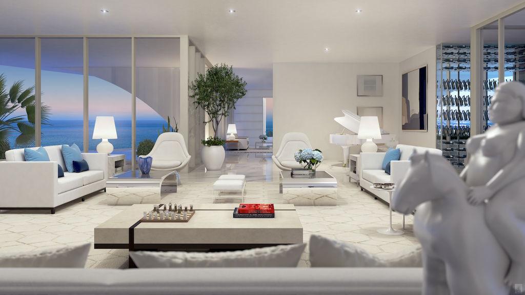 Jade PH living room