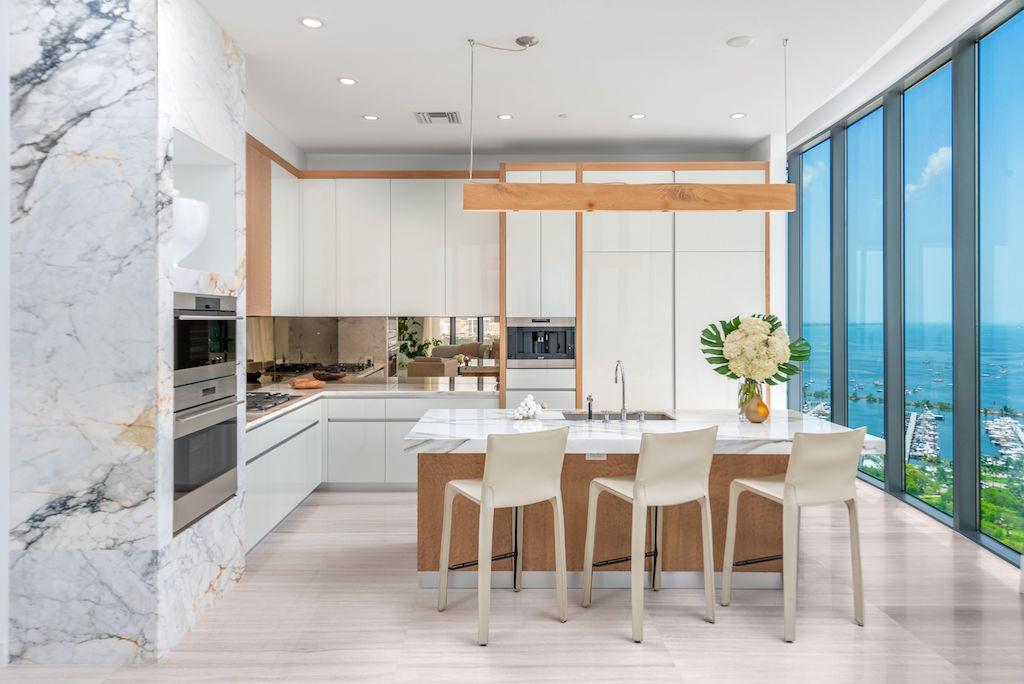 One Park Grove kitchen