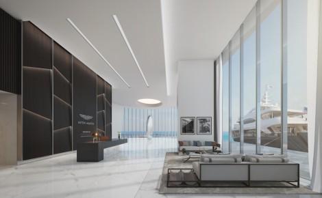 Aston Martin Residences_Thassos Marble Flooring[3]