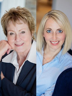 Julie Beavers and Rainie Collins 1