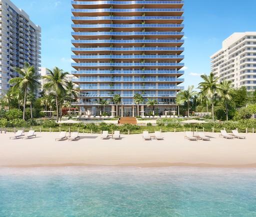 57 Ocean - building rendering