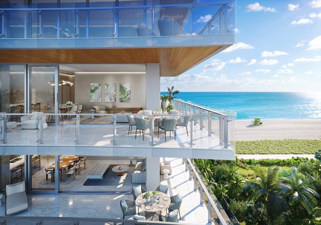 57 Ocean - residence balcony