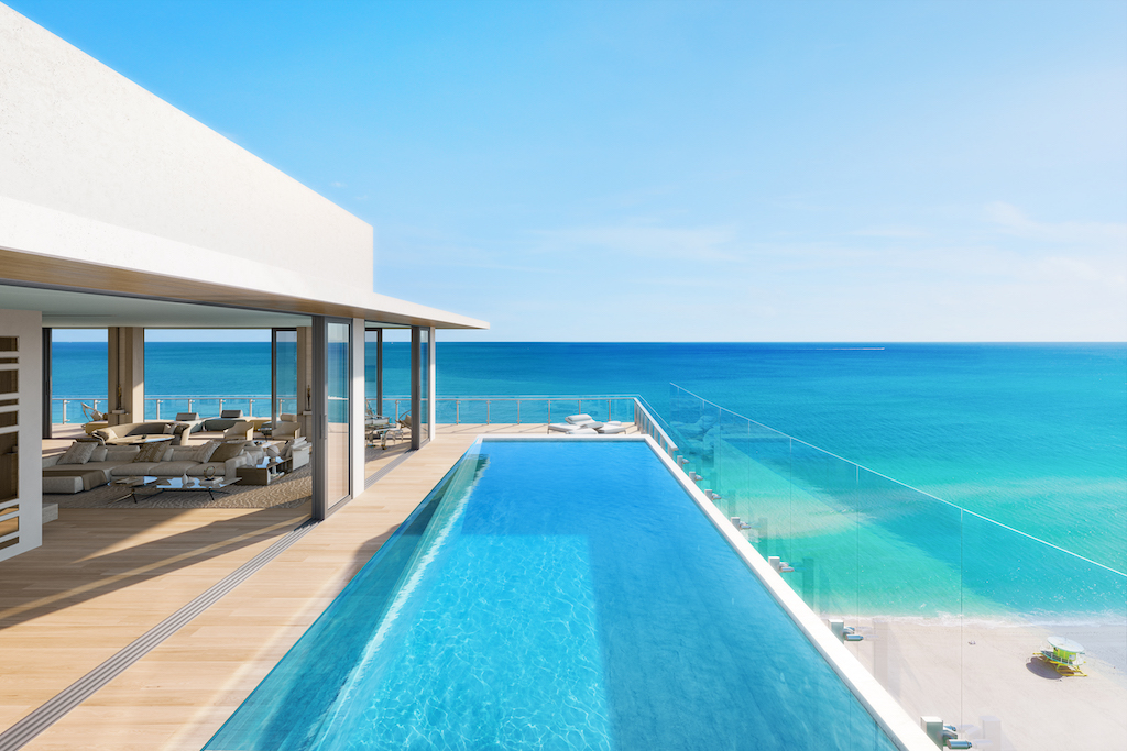 57 Ocean - penthouse private pool