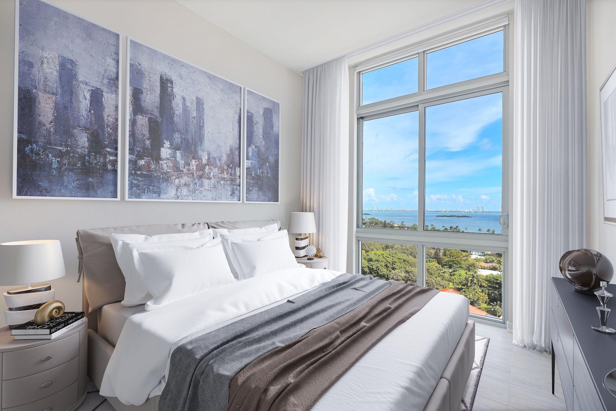 Quadro at Miami Design District - bedroom