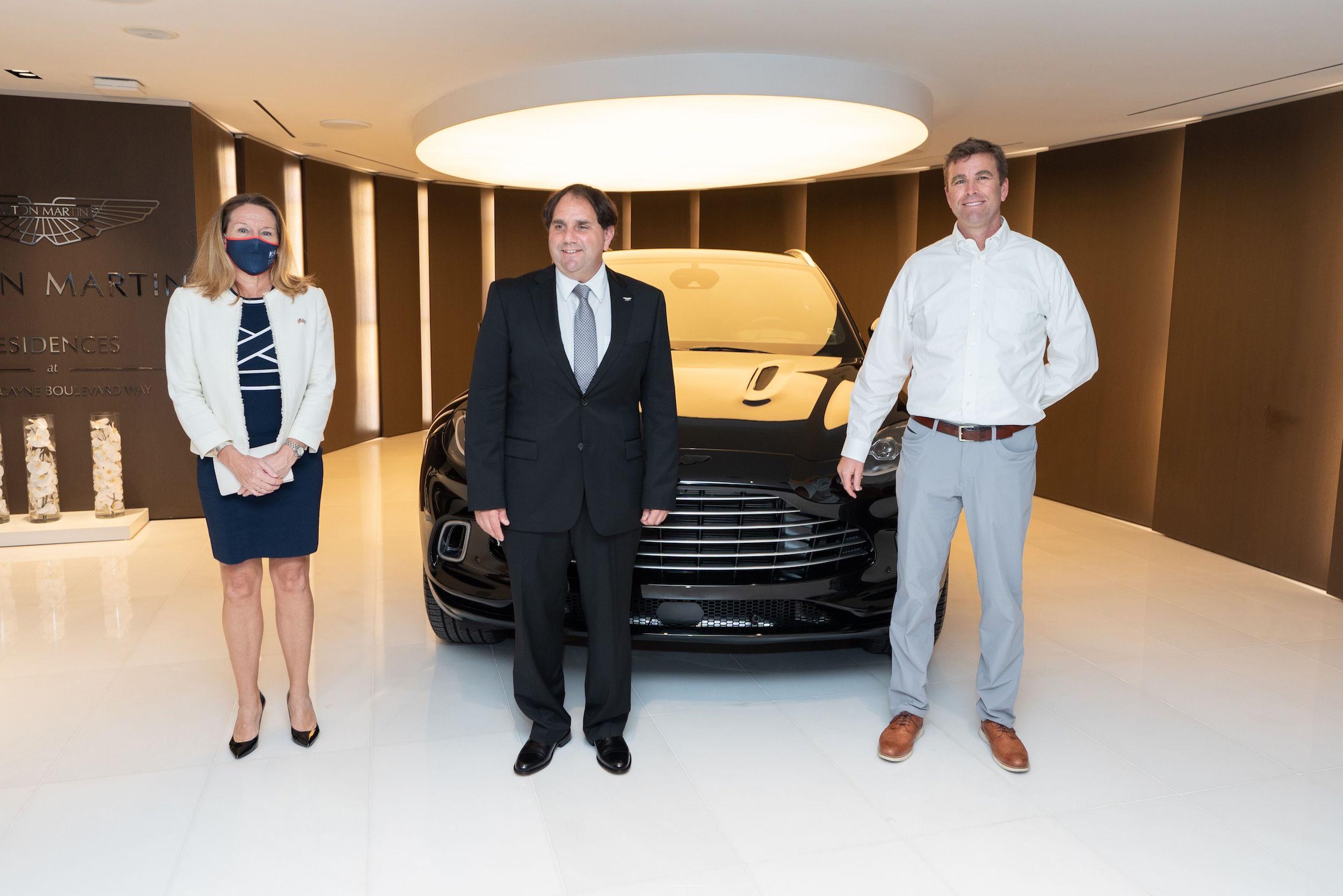 Aston Martin Residences DBX event nov 2020