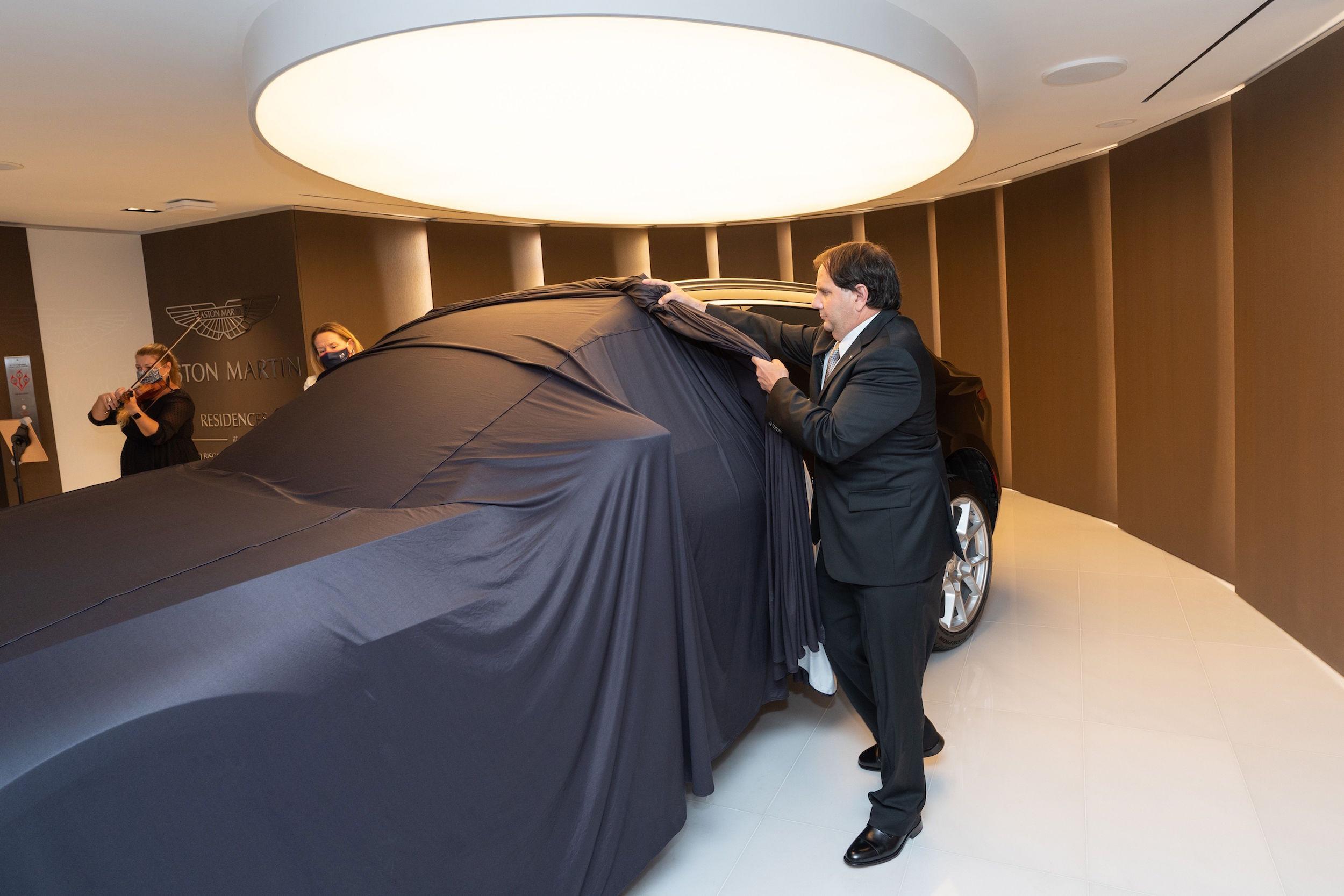 Aston Martin Residences DBX event nov 2020 3