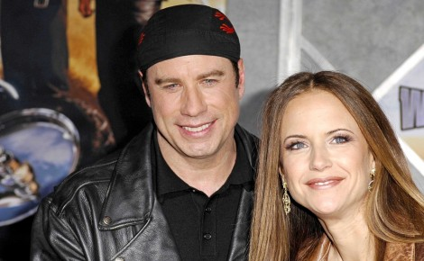 John Travolta ,Kelly,Preston,At,World,Premiere,Of,Wild,Hogs,