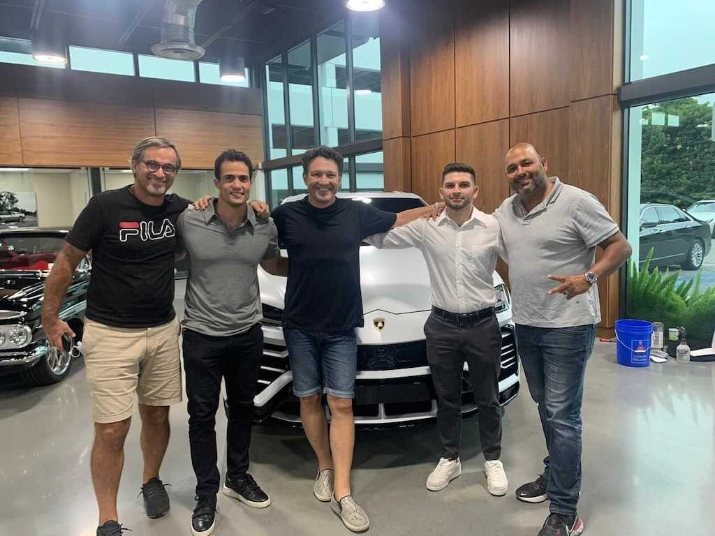 Giampaolo Guarino, Angel Nicolas, Zecky da Costa, David Rousso, Luis Junco