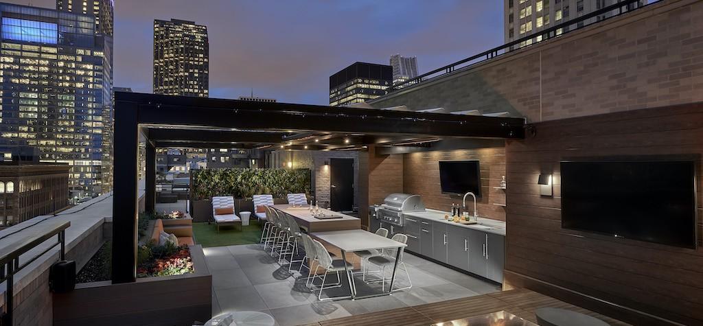 Centaur Interiors Creates Unique Outdoor Oasis For Millenium Park Residence