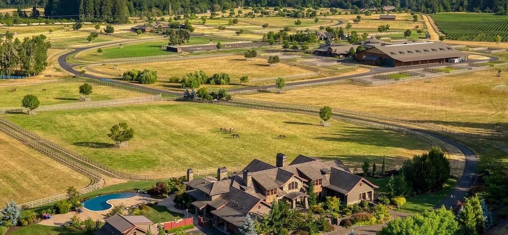 Real Estate Talk – Elite Equestrian Estate In Beautiful Wilsonville, Oregon